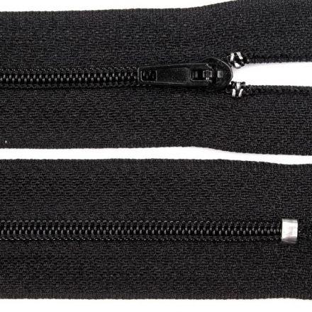 Galanterie: Zip nedělitelný 20 cm - černá