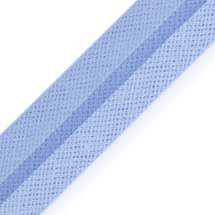 Galanterie: Šikmý proužek šíře 20 mm - sv.modrá