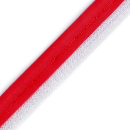 Galanterie: Paspulka šíře 8 mm - červená