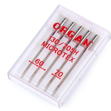 Galanterie: Strojové jehly Microtex 60, 70