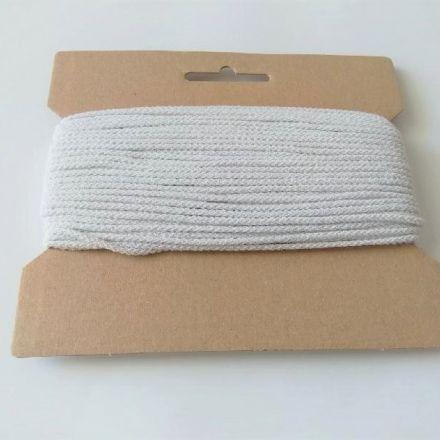 Galanterie: Kulatá pruženka 2 mm (25m) - bílá