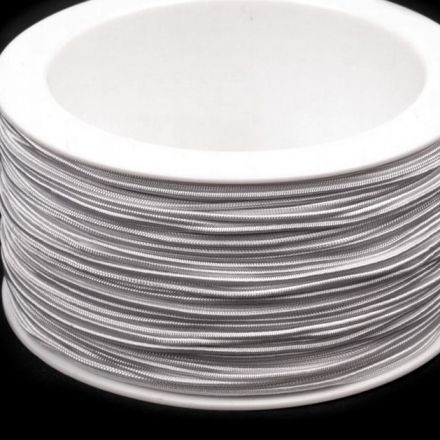 Galanterie: Kulatá pruženka 1,2 mm - bílá
