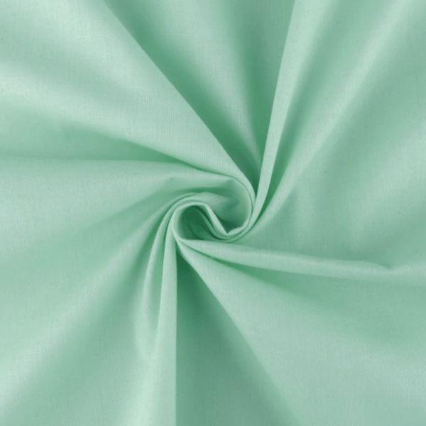 Bavlněná látka jednobarevná - mint