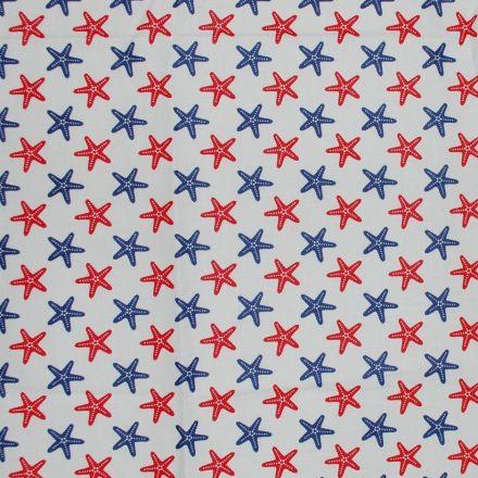 Metráž: Bavlna námořnická - hvězdice