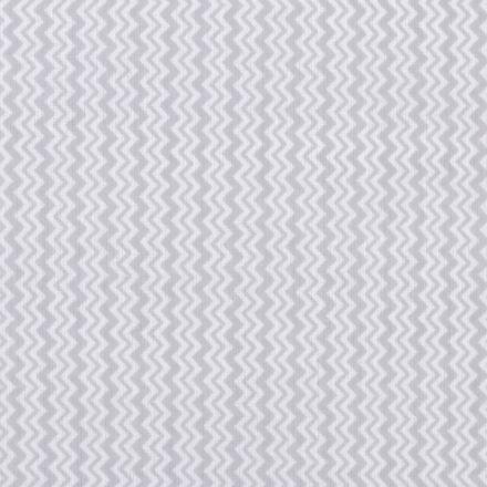 Metráž: Bavlněná látka chevron - šedá