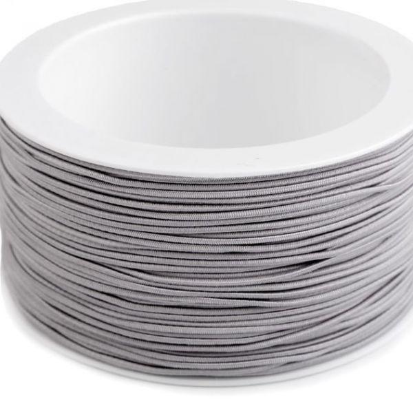 Kulatá pruženka 1,2 mm - šedá