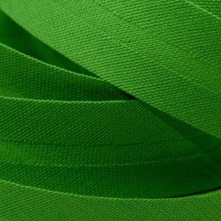 Galanterie: Šikmý proužek šíře 20 mm - zelená