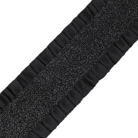Galanterie: Pruženka šíře 50 mm (1m) - černá