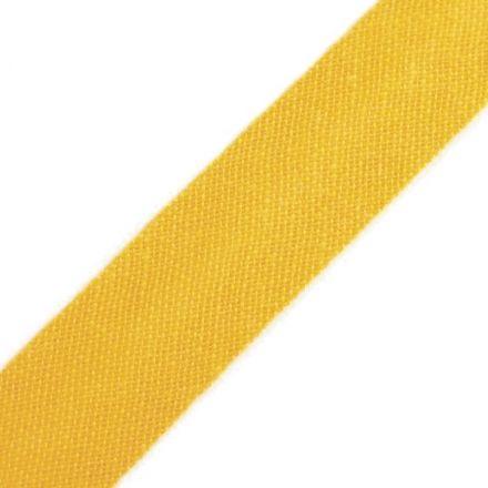 Galanterie: Šikmý proužek šíře 14 mm - žlutá