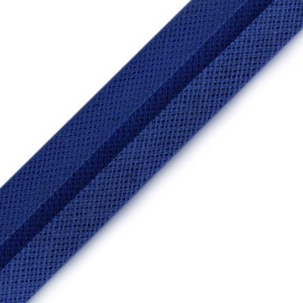 Galanterie: Šikmý proužek šíře 16 mm - modrá