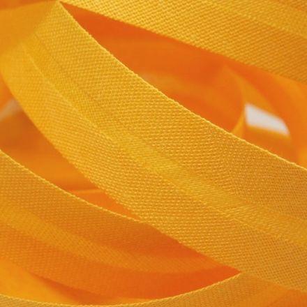 Galanterie: Šikmý proužek 20 mm - tmavě žlutá