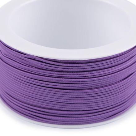 Galanterie: Kulatá pruženka 1,2 mm - fialová