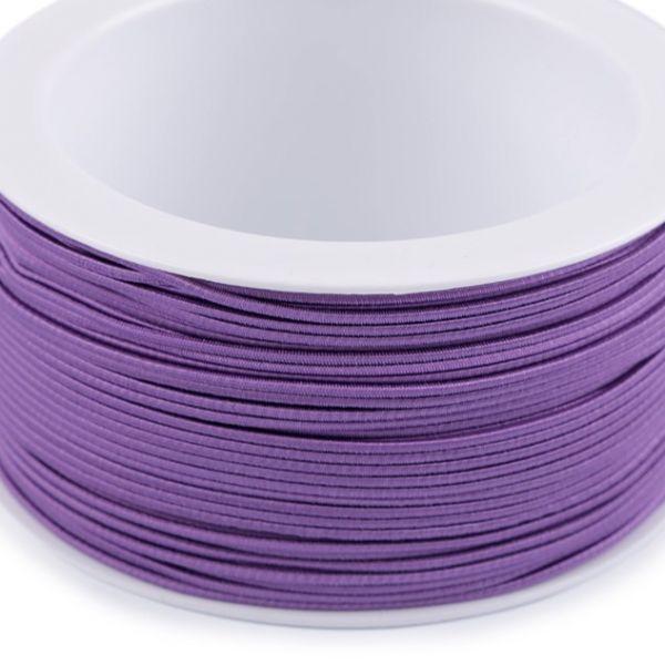 Kulatá pruženka 1,2 mm - fialová
