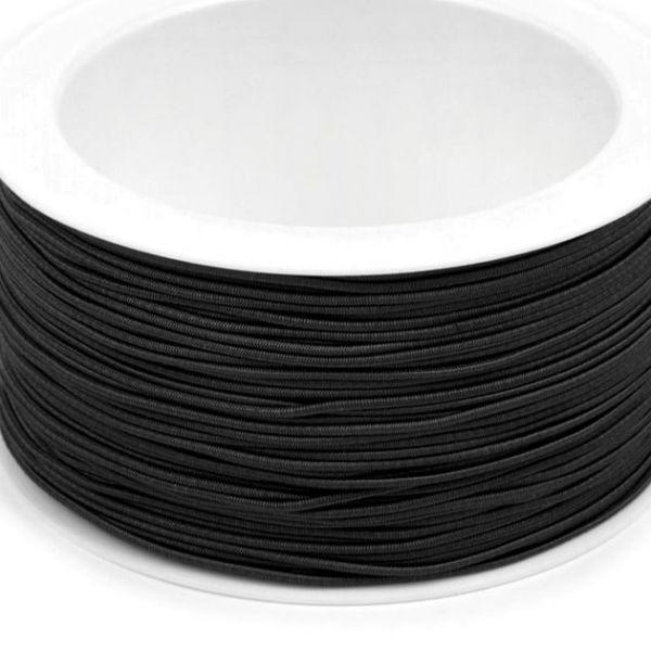 Kulatá pruženka 1,2 mm - černá