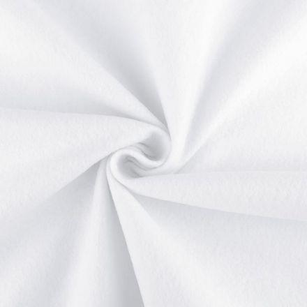 Galanterie: Filc / plsť šíře 90 cm - bílá