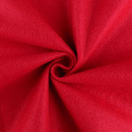 Galanterie: Filc / plsť šíře 90 cm - červená