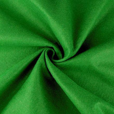 Galanterie: Filc / plsť šíře 90 cm - trávově zelená