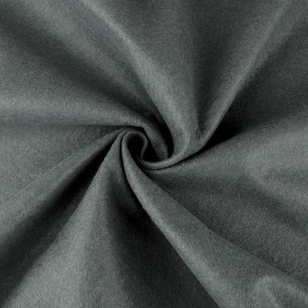 Galanterie: Filc / plsť šíře 90 cm - šedá