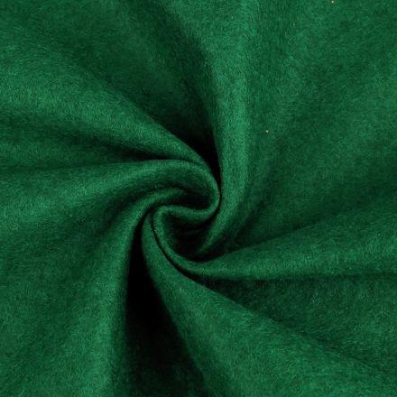 Galanterie: Filc / plsť šíře 90 cm - tmavě zelená