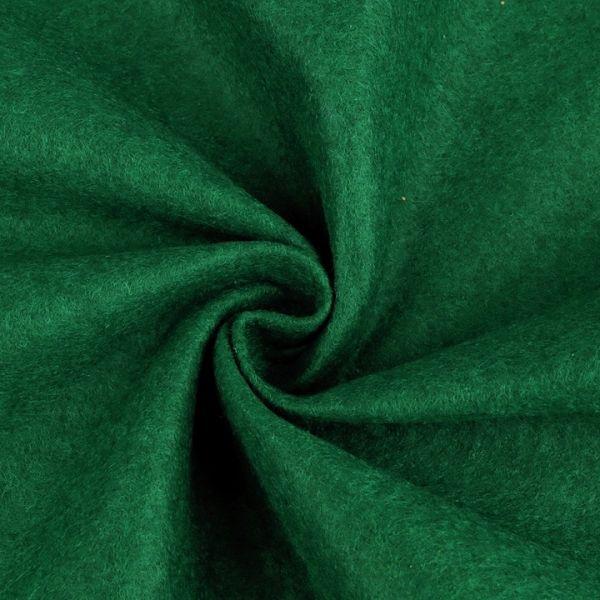 Filc / plsť šíře 90 cm - tmavě zelená
