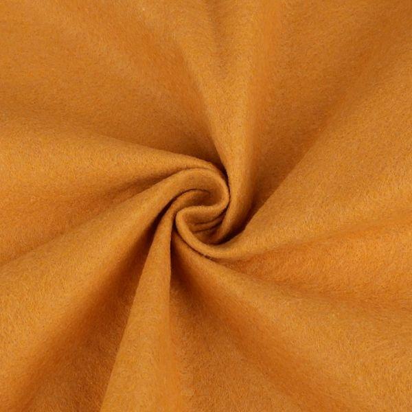 Filc / plsť šíře 90 cm - hořčicová