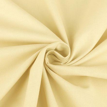 Metráž: Bavlněná látka šíře 160 cm - vanilková