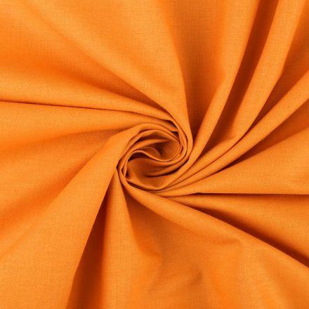 Metráž: Bavlněná látka šíře 160 cm - oranžová