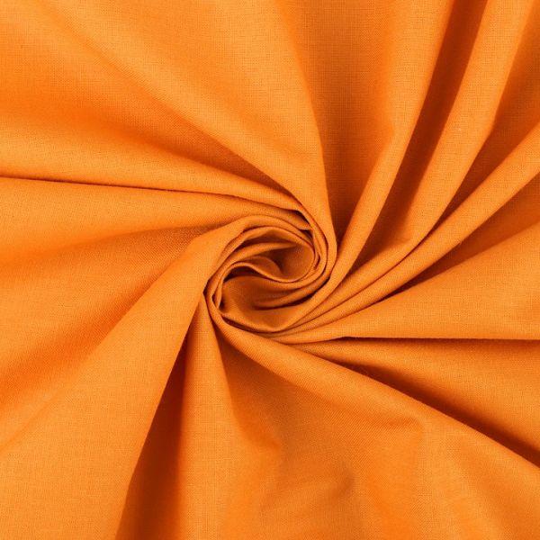 Bavlněná látka šíře 160 cm - oranžová