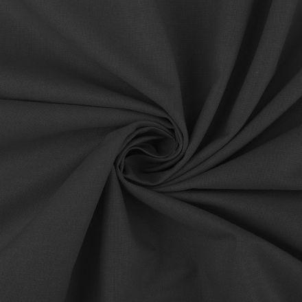 Metráž: Bavlněná látka šíře 160 cm - černá