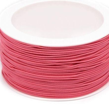 Galanterie: Kulatá pruženka 1,2 mm (1m) - růžová