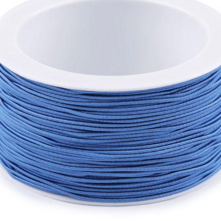 Galanterie: Kulatá pruženka 1,2 mm (1m) - modrá