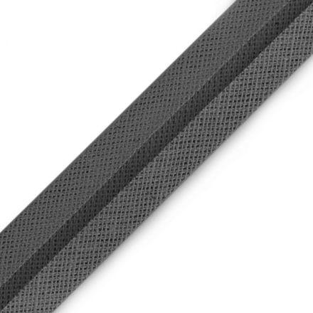 Galanterie: Šikmý proužek šíře 16 mm - šedá