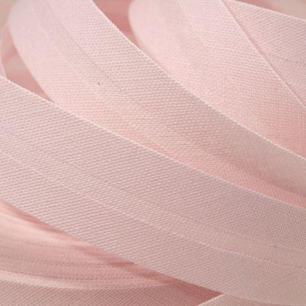 Galanterie: Šikmý proužek šíře 14 mm - sv.růžová