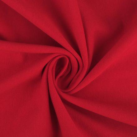 Metráž: Teplákovina šíře 160 cm - červená