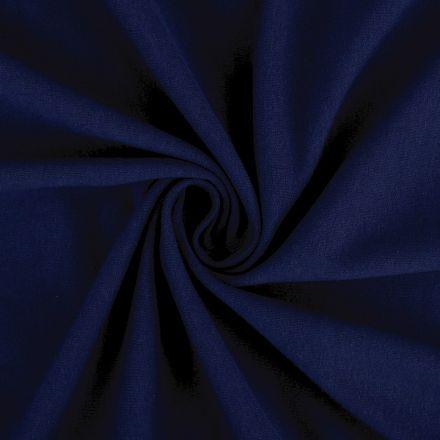 Metráž: Teplákovina šíře 160 cm - tmavě modrá