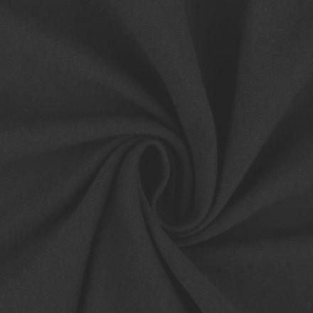 Metráž: Teplákovina šíře 160 cm - černá