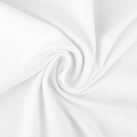Metráž: Teplákovina šíře 160 cm - bílá