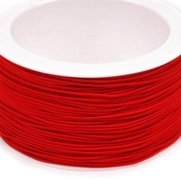 Kulatá pruženka 1,2 mm - červená