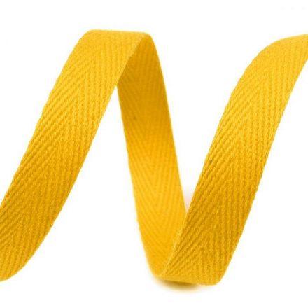 Galanterie: Keprovka - tkaloun šíře 10 mm (1m) - žlutá
