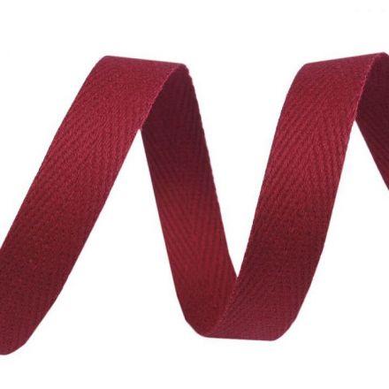 Galanterie: Keprovka - tkaloun šíře 10 mm (1m) - granátová