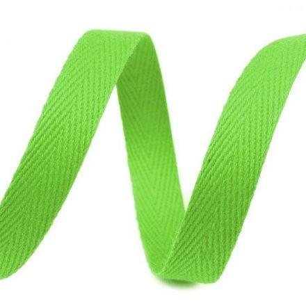 Galanterie: Keprovka - tkaloun šíře 10 mm (1m) - světle zelená