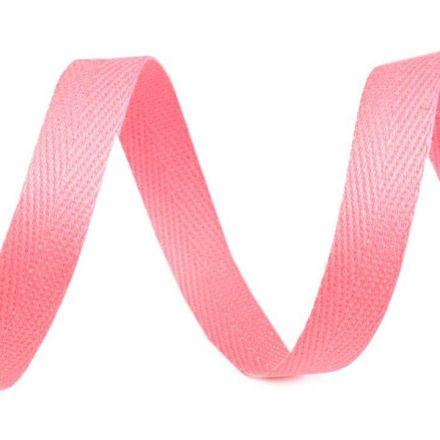 Galanterie: Keprovka - tkaloun šíře 10 mm (1m) - růžová