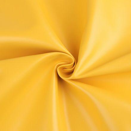 Metráž: Koženka šíře 140 cm - hořčicová