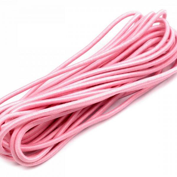 Kulatá pruženka 2 mm svazek (3m) - růžová