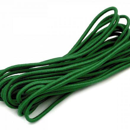 Galanterie: Kulatá pruženka 2 mm svazek (3m) - tmavě zelená