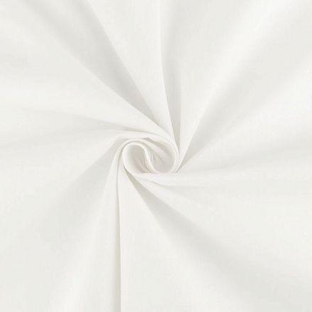 Metráž: Sada bavlněná látka s nití - bílá