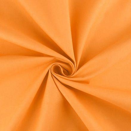 Metráž: Sada bavlněná látka s nití - oranžová