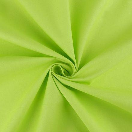 Metráž: Sada bavlněná látka s nití - sv. zelená