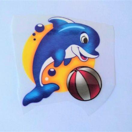 Galanterie: Zažehlovací aplikace delfín