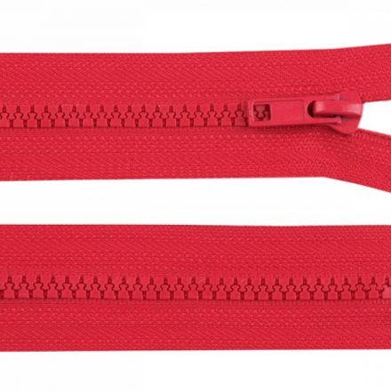 Galanterie: Zip kostěný délka 35 cm - červená